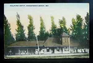 Chesapeake Beach, MD - Railroad Depot - Train Station