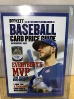 2017 Beckett National Kris Bryant Cubs MVP Jersey # 17/500