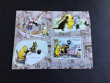 Mickey Mouse 75th Anniversary Winnie the Pooh Stamp Sheet R38382