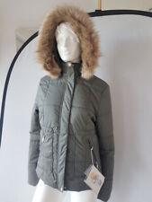 Poivre blanc Veste de Ski pour Femmes Kaki Gris Taille L/M (ca.Gr.38) Neuf