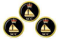 Mer Cadets SCC Canot Badge Marqueurs de Balles de Golf