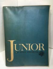 Vintage 1963 Junior Girl Scout Handbook Paperback W/ Dust Jacket Guide Manual
