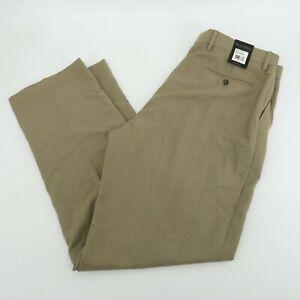 Kenneth Roberts Mens Platinum Khaki Pants 36x32