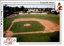 2000 Evansville Otters Warning Track #1 Bosse Field Bulit in 1915 Baseball Card
