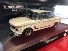 1:18 BMW 2002 Turbo weiss 1973 Minichamps NEU & OVP ABVERKAUF SONDERPREIS