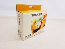 Toshiba KT-4111 Walkman Personal Cassette Player Unused Boxed Instructions
