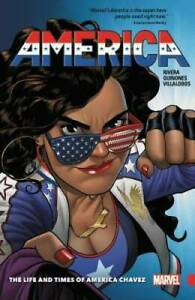 AMERICA THE LIFE AND TIMES OF AMERICA CHAVEZ VOL 1~ MARVEL TPB NEW