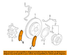 GM OEM Disc Brake-Pads 21990460