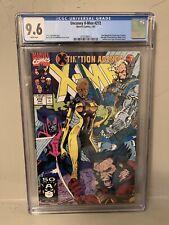 Uncanny X-Men #272 CGC 9.6 Jim Lee New Mutants X-Factor Tiger Insert Direct