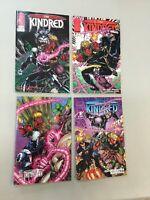 The Kindred 1-4 Complete Set 1 2 3 4 Image Comics 1994 (TK02)