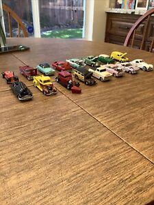 American Flyer type S gauge 1:64 scale cars  16 car lot used