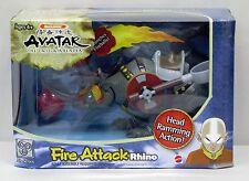 Avatar the Last Airbender Fire Attack Rhino Mattel NIP 10 inch 4+ 2006 S178-3