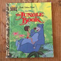 A Little Golden Book Walt Disney's The Jungle Book