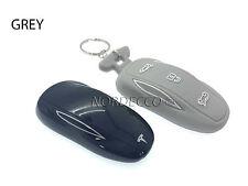 NUOVO PORTACHIAVI SMART in Silicone Protector Case COVER CON PORTACHIAVI TESLA Model S Grigio