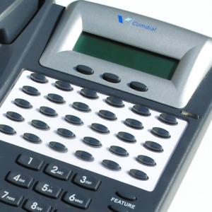 Comdial Edge 120 7261-00 DET HAC Office Phone Gray Refurbished 1 YEAR WARRANTY