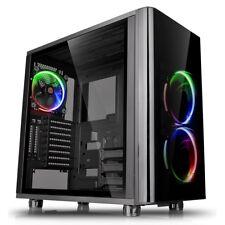 Thermaltake View 31 TG RGB Metà Custodia per Torre Dei Giochi - Nero USB 3.0