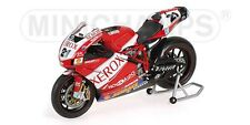 MINICHAMPS 122 060221 DUCATI 999 F06 signed model bike T Bayliss WSB 2006 1:12th