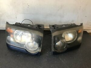 LAND ROVER DISCOVERY 2 TD5 FACELIFT HEADLIGHTS PAIR REF:YY03