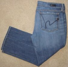 "Citizens of Humanity ""Kelly"" #063 Low Waist Cropped Stretch Jeans sz 31 Mint!"