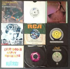 """Punk/New Wave - 24 Vinyl 7"""" Singles Bundle - The Cult, Mobiles, Damned,Costello"""