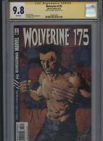 Wolverine #175 CGC 9.8 SS Frank Tieri 2002 J.H. Williams cover