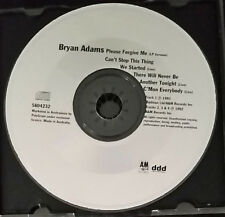 Bryan Adams - Please Forgive Me - CD Single - Australia - Disc Only