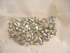 60 swarovski pearshape TTC stones,13x7.8mm crystal AB #4300/2