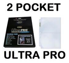 2 POCKET NEW 100 ULTRA PRO PLATINUM  5 x 7 Sheets Protectors Brand Box Pages