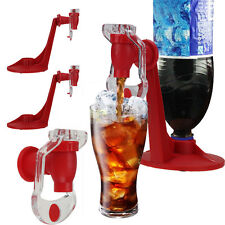 2x Red Fizz Soda Saver Dispenser Bottle Drinking Water Dispense Machine Gadget