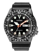 Citizen Herrenuhr Automatik NH8385-11EE Armbanduhr schwarz