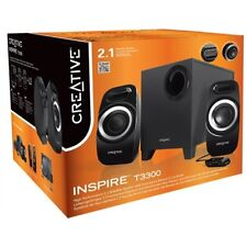 CREATIVE INSPIRE T3300 2.1 Stereo Sound Speakers PC DSE IFP 51MF0415AA008   SALE