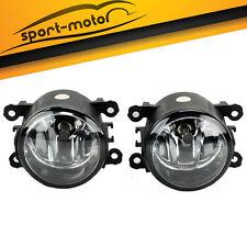 for Honda CRV Pilot Acura ILX RDX TSX Subaru Replacement Clear Fog Lights PAIR
