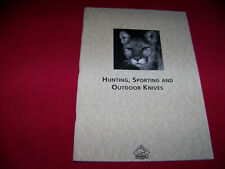 1990's Puma Knife Cutlery Co. Reprint Puma Catalog 35 page Ruko Copy