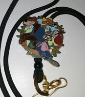 DISNEY PARKS CAST MEMBER EXCLUSIVE LIMITED EDITION SPLASH MOUNTAIN LANYARD EUC