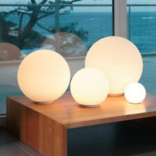 Modern Milky White Globe Glass Table Light Bedroom Desk...