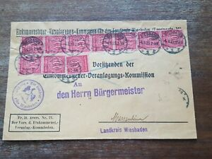 STAMPS COVER GERMANY REICH POSTAL HISTORY NICE LOT OF/050