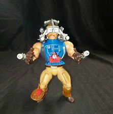 1985 He-man Masters Of The Universe Rio Blast Action Figure *Missing 1 thigh pc*