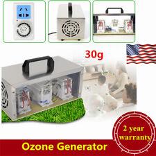 30g Ozone Generator Ozonizer Air Purifier Sterilizer w/Timing Switch Usa Stock