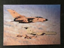 Vintage Real Photo Postcard: Air #A104: Returning To Base Tornado GR1 With VC10