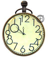 """4"""" Antique Brass Maritime Nautical Mechanical Desk Ball Clock Collectibles"""