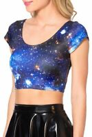 BLACKMILK | Womens Galaxy Nana Crop Top NEW + TAGS [ Size S or AU 10 / US 6 ]