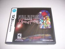 Original Nintendo DS Box Case for Final Fantasy Crystal Chronicles Ring of Fates