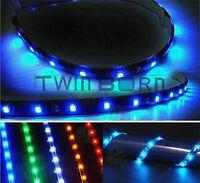 4pcs Various Colors Waterproof 30cm/15 LED Car Truck Motors Flexible Strip Light