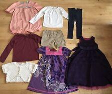 Girls bundle age 4-5 years dresses tops monsoon zara vertbaudet cardigan