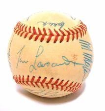 Tom LaSorda Fernando Valenzuela Bob Welch 1987 Signed Autographed Dodgers Ball