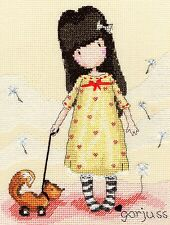 BOTHY THREADS  XG4  THE PRETEND FRIEND  GORJUSS  Counted  Cross Stitch  Kit