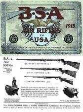 BSA 1915 Air Guns in USA Catalog