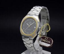 New Old Stock OMEGA SEAMASTER POLARIS solid gold bezel & Logo 396.1022 1441 NOS