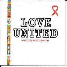 CD SINGLE 2 TITRES--LOVE UNITED--LIVE FOR LOVE UNITED--2002