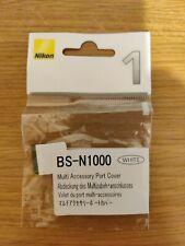 Nikon Genuine Hot Shoe Cap Cover BS-N1000 For Nikon 1 J1 V1 Multi Port in White
